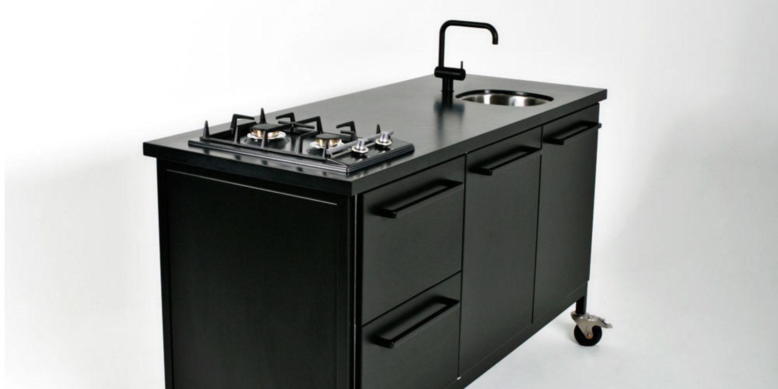 Granieten werkbladen - Keuken kleine ruimte ...