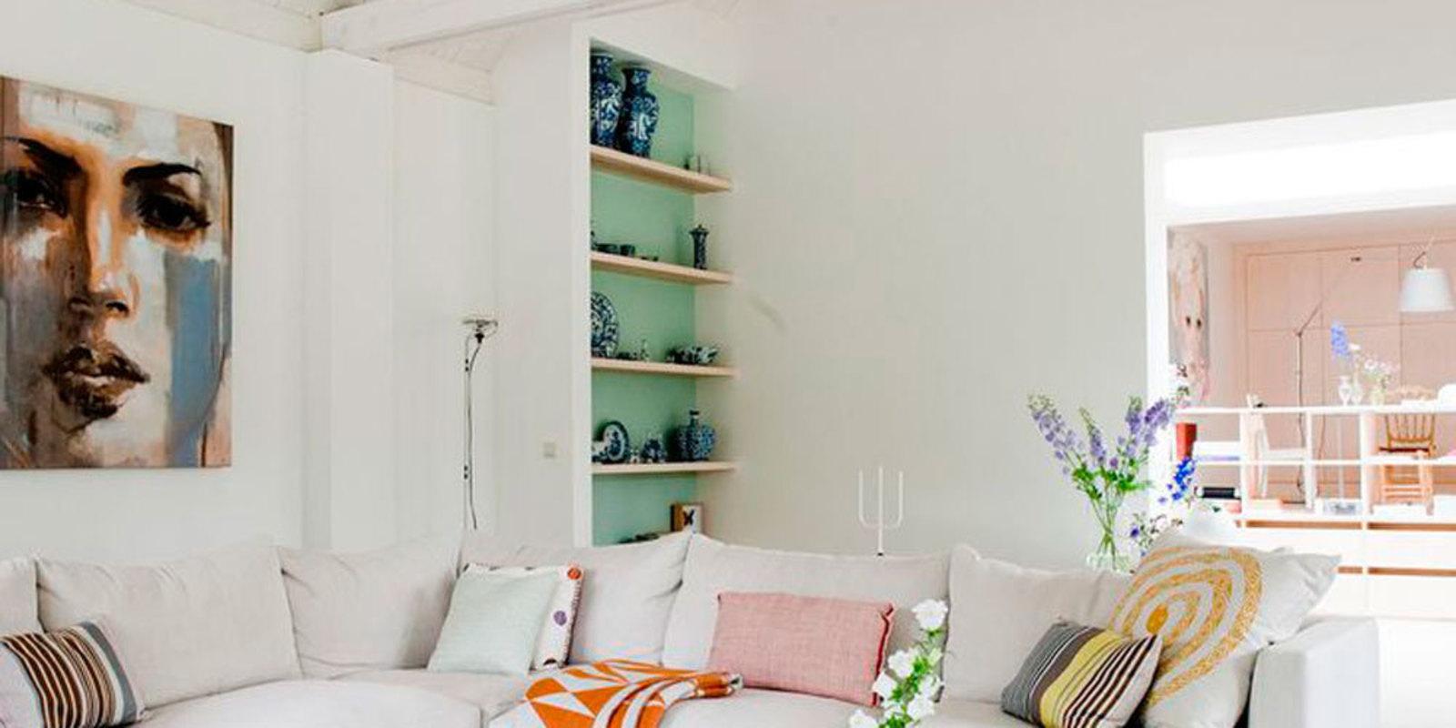 6 tips voor die onhandige hoek in huis - Een hoek thuis ...