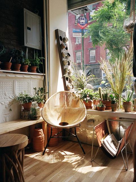 13x de boho tuin - Scheiding in hout deco interieure ...