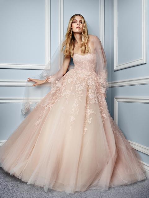Geliefde Poeder roze trouwjurk – Populaire jurken uit de hele wereld @FF08