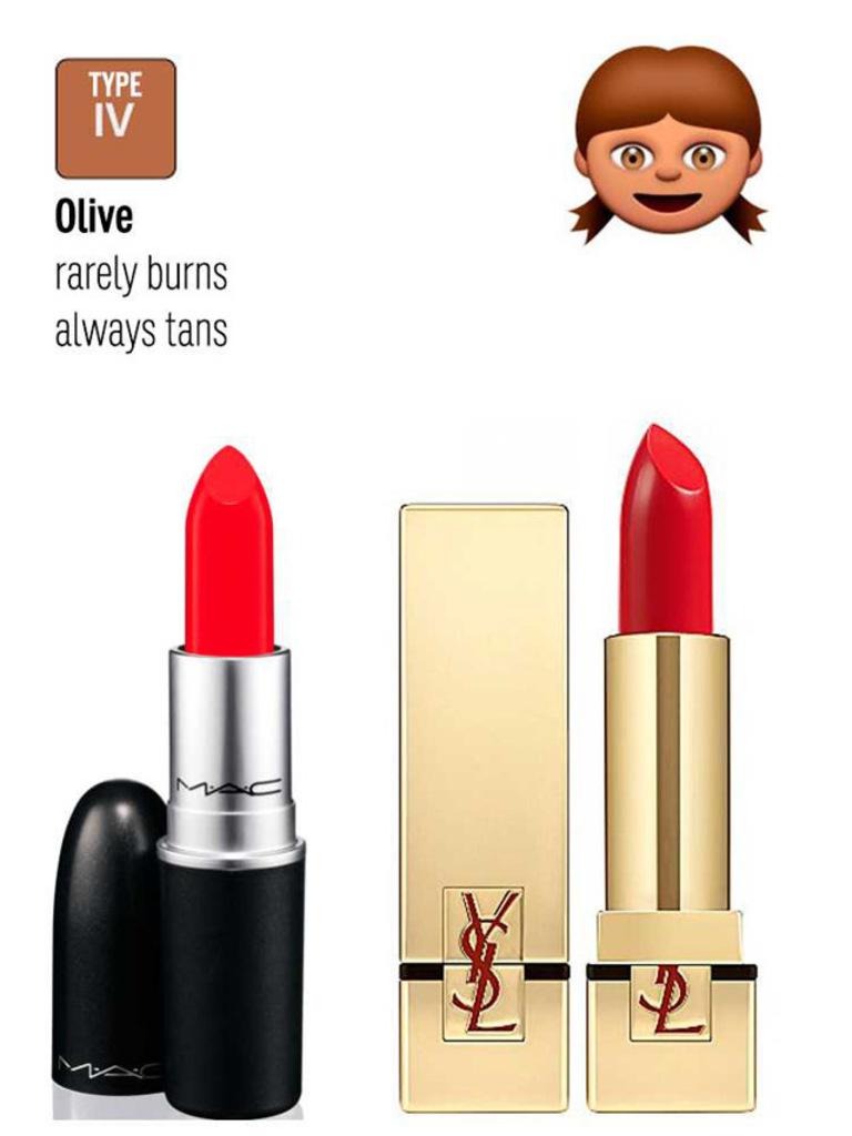 Deze emoji's vertellen je precies welke lippenstift bij je ...