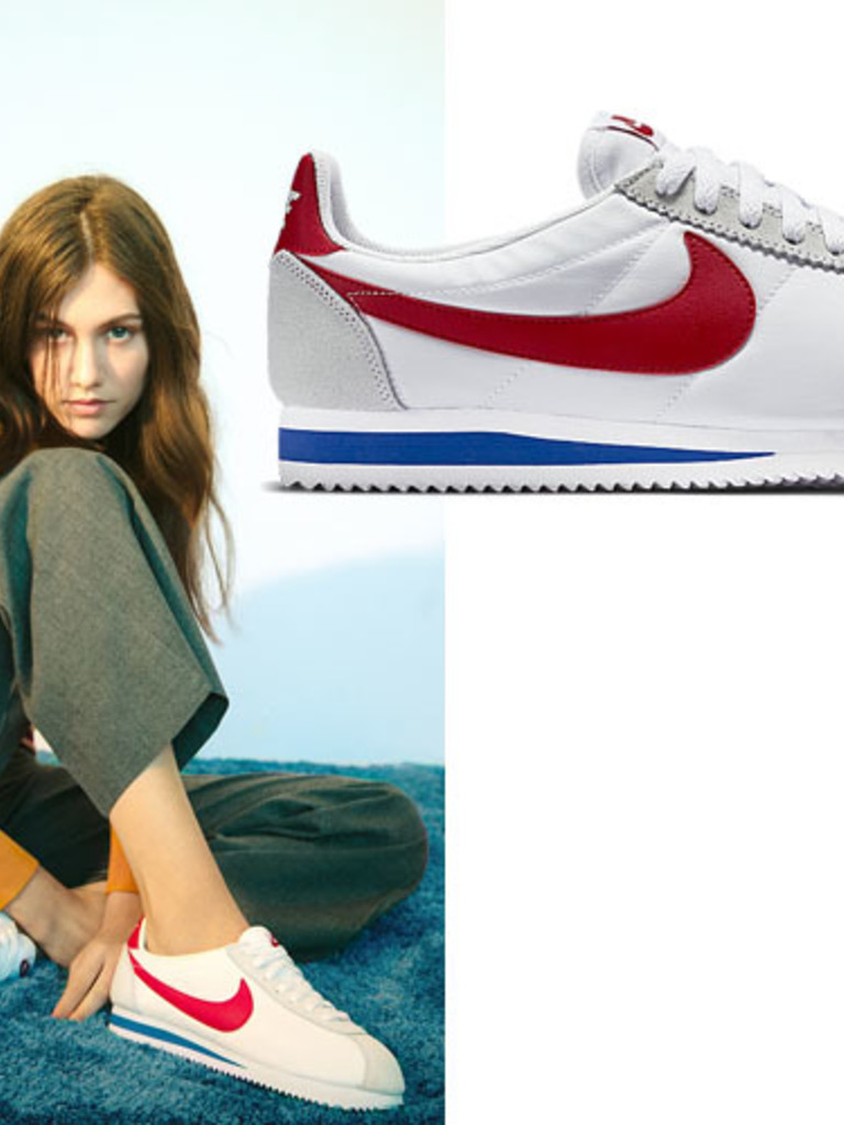 reputable site 16f07 19fc8 nike cortez wit rood