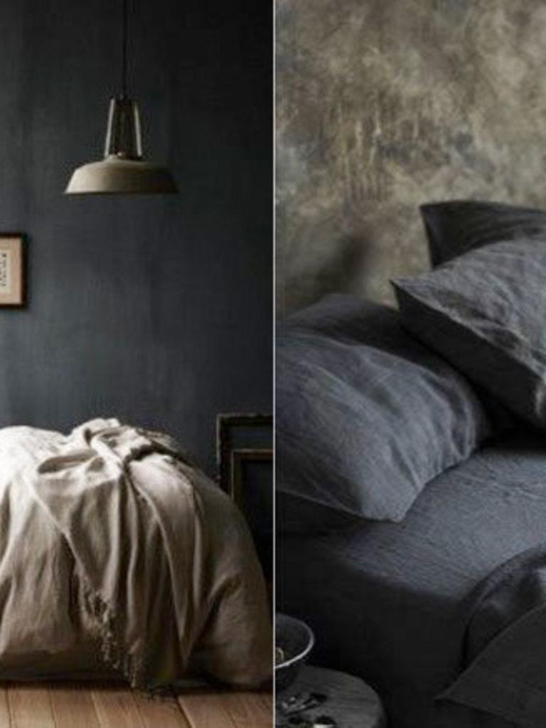 10 stijlvolle zwarte slaapkamers