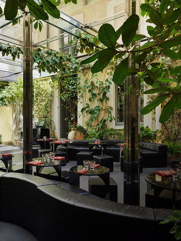 Designerrestaurants voor modemeisjes for Garden designer milano