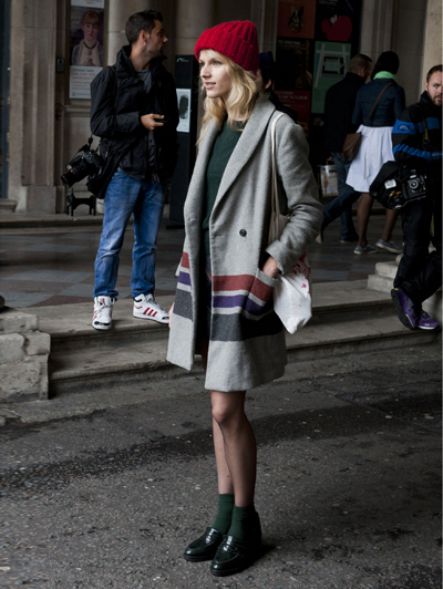 Streetstyle Fashion Week Mannelijk Schoeisel