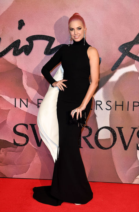 amber le bon british fashion awards