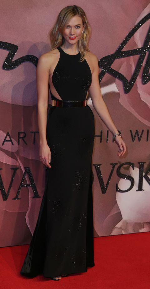 karlie kloss british fashion awards