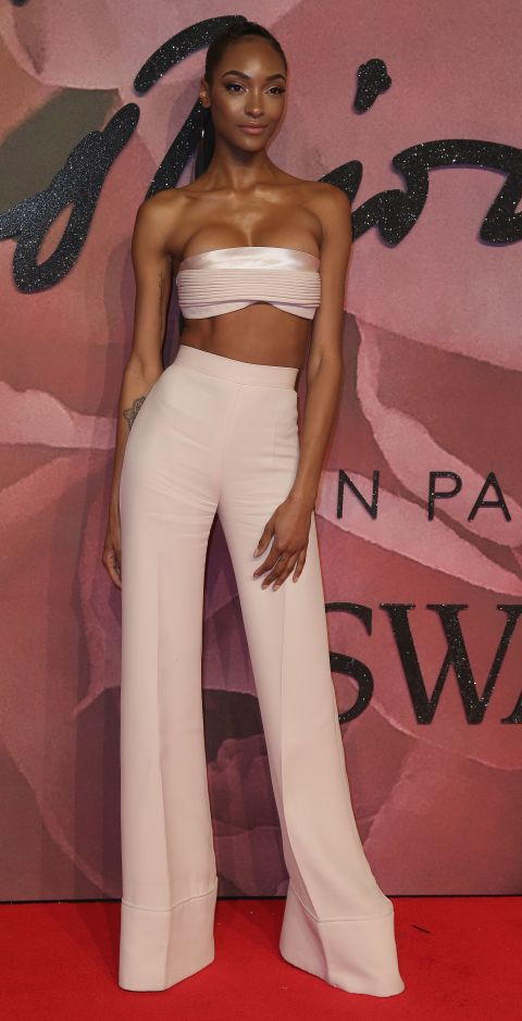 jourdann dunn british fashion awards