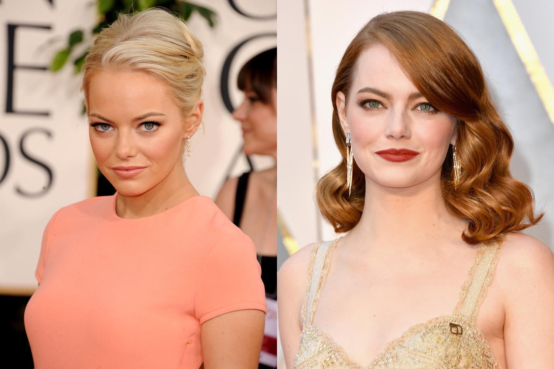 natuurlijke haarkleur celebrities
